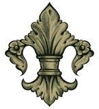 Heraldry lily Royalty Free Stock Photos