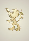 Heraldry Lion Royalty Free Stock Photo