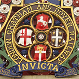 Heraldry in London Royalty Free Stock Images