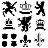 Heraldry Ornaments Royalty Free Stock Images
