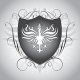 Heraldry shield Royalty Free Stock Photo