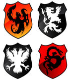 Heraldry Shields Royalty Free Stock Photography