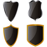 Heraldry shields Royalty Free Stock Images
