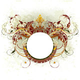heraldyczna średniowieczna osłona Fotografia Royalty Free