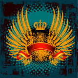 heraldyczna odznaki osłona Royalty Ilustracja