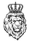 heraldyczna zwierzęca korona Fotografia Royalty Free