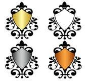 heraldyczne osłony Fotografia Royalty Free