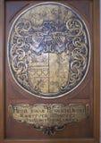 Heraldyczny barelief Obraz Royalty Free
