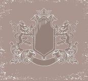 Heraldyczny emblemat Fotografia Stock