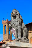 Heraldyczny lew Fotografia Royalty Free