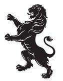 heraldyczny lew Ilustracji