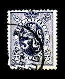 Heraldyczny lew, seria, około 1930 Obraz Stock
