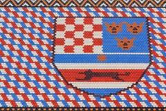 Heraldyczny symbol na San Marco kościół Obraz Royalty Free