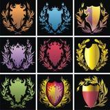 Heraldyka elementy Zdjęcie Royalty Free