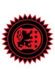 Heraldyka lew Zdjęcie Royalty Free