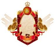 heraldyka musical Zdjęcia Royalty Free