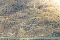 Herança da mineração, fundição da ligação, perto de Villaricos, AlmerÃa, a Andaluzia, Espanha Foto de Stock Royalty Free