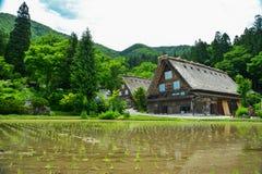 Herança de Shirakawa Imagem de Stock Royalty Free