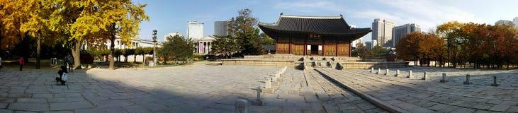 Herança do local da excursão de Coreia Imagens de Stock Royalty Free