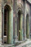 Herança velha e construção dilapidada Fotografia de Stock Royalty Free
