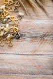 Herart a formé des pâtes Photographie stock