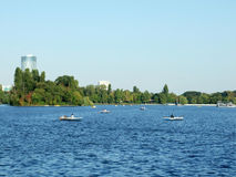 Herastrau lake Royalty Free Stock Photography