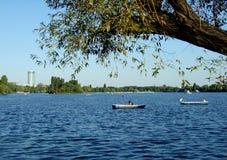 Herastrau lake Royalty Free Stock Images