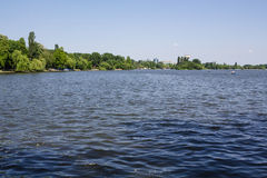 Herastrau lake Stock Image