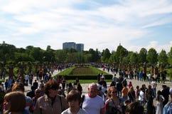 Herastrau park Arkivfoto