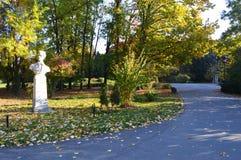 Herastrau Park in bucharest Stock Photo