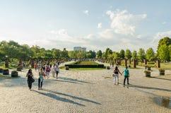 Herastrau Park In Bucharest royalty free stock image