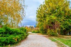 Herastrau-Park in Bukarest, Rumänien lizenzfreie stockfotos