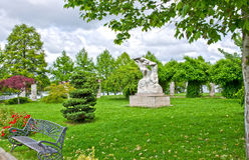 Herastrau-Park, Bukarest, Rumänien Lizenzfreie Stockbilder