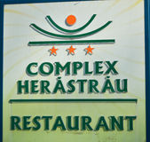Herastrau restaurant Royalty Free Stock Photos