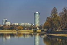 Herastraupark in Boekarest, Roemenië royalty-vrije stock foto