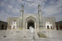 Herat Friday Mosque. Friday Mosque in Herat, Afghanistan Stock Photography