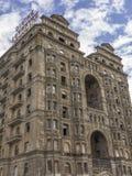 Herauf Ansicht eines verlassenen Hotels in Philadelphia stockfotos
