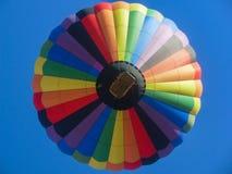Herauf an den Ballon Stockbild