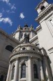 Herauf die Kathedrale von Str. Paul Str.-Paul Mangan Lizenzfreie Stockbilder
