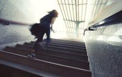Herauf die Treppen Lizenzfreie Stockbilder