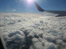 Herauf in die Wolken lizenzfreie stockbilder