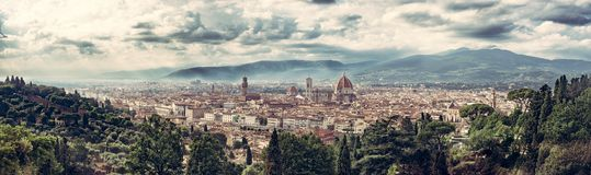 Herauf Florencia Stockfotografie