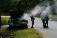 Herauf in Rauch Lizenzfreie Stockbilder
