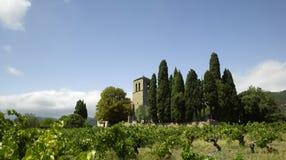 Herault province. France, Herault province: Prieure de Saint-Julien royalty free stock images