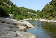Herault river Royalty Free Stock Photo