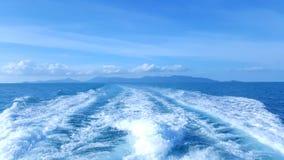 Heraus im Meer Lizenzfreies Stockbild