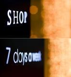 Heraus Leuchten des Fokus 0f Lizenzfreie Stockfotografie