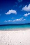 Heraus schauen in Richtung zu Karibischen Meeren Stockbilder