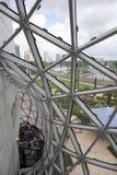 Heraus schauen vom Salvador Dali-Museum Lizenzfreies Stockbild