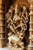 Heraus Seitenansicht eines indischen Tempels. Stockbilder